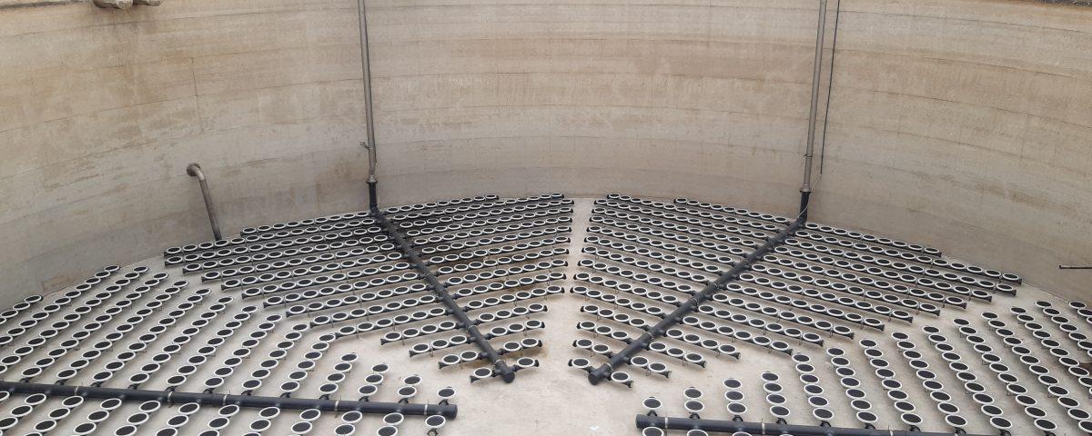 Impianto di depurazione delle acque reflue