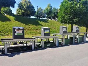 Ecologia Soluzione Ambiente: Contenitori Interrati / Isole Ecologiche Interrate di Sistema Ambiente Lucca