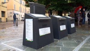Isole ecologiche interrate a Parma in P. le Bertozzi