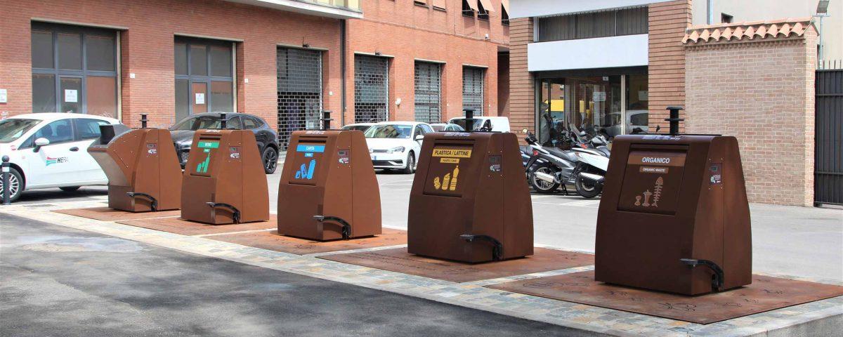 Isole ecologiche interrate 2AS System di ESA - Rimini